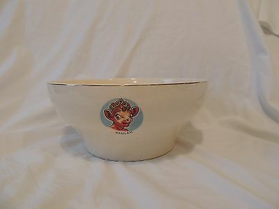 Vintage BORDEN CO. ELSIE-ELMER-BEAUREGARD-BEULAH BOWL