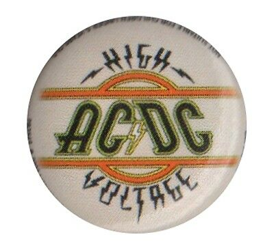 ACDC High Voltage 1 inch button pin badge Official