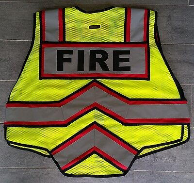 ULTRA BRIGHT EMS 6 Point Breakaway, Class II Safety Vest (ANSI / ISEA 107-2010)