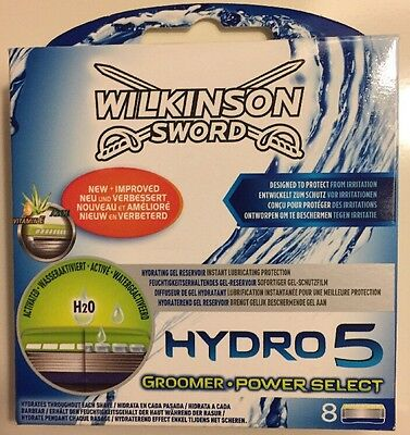 Wilkinson Sword Hydro 5 Power Select Blades - Pack of 8