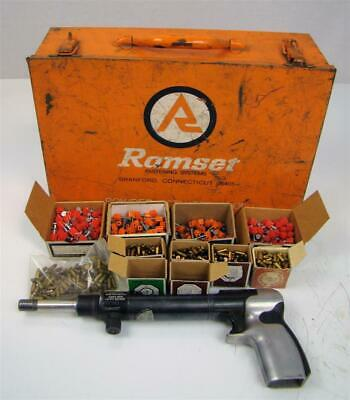 Olin  Ramset Fastening System Powder Actuated Tool - 4160 Mk Ii + Accessories