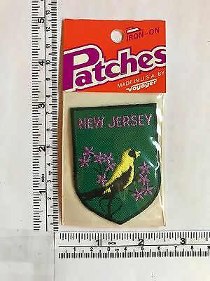 Vintage US State New Jersey Collectible Patch