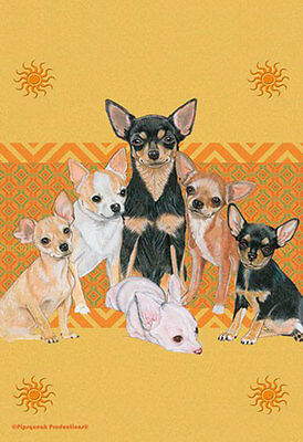 Chihuahua Garden Flag 12.5 x 18 in