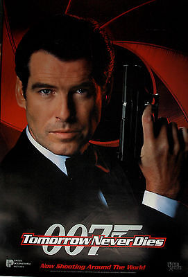 James Bond 007 - Tomorrow Never Dies Authentic Rolled UK Teaser Poster