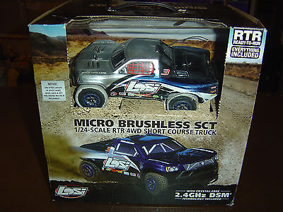LOSI SCT 1/24 Brushless 4x4 - Voiture RC electrique