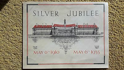 May 1910-1935 Silver Jubilee Message George V & Mary, Message to London Children