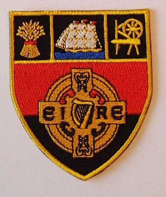 Down County GAA Gaelic Hurling Football iron on/ sew embroidered patch badge