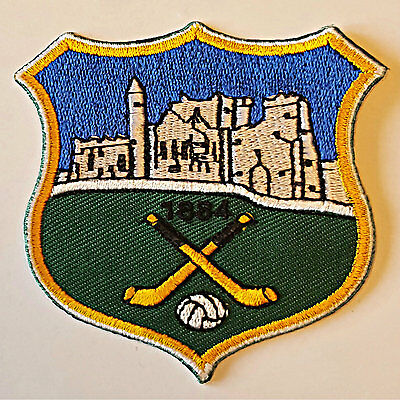 Tipperary County GAA Hurling Football iron on sew on embroidered patch badge