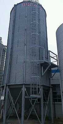 Brock 45ft silo plastic grain bin (Indiana)