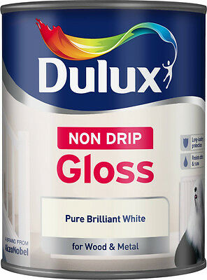 Dulux Non Drip Gloss 750ml, 1.25L & 2.5L Available Fast & Free 48HR Tracked!!