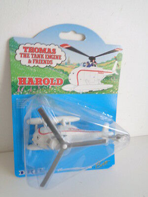 """ERTL 1993 THOMAS THE TANK ENGINE """"HAROLD HELICOPTER""""- Card 19  - MINT ON CARD"""