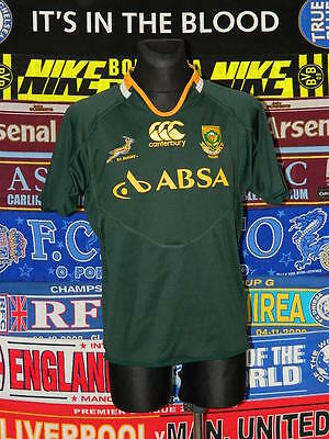 4/5 South Africa adults L canterbury rugby union shirt jersey trikot
