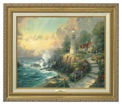 The Light of Peace Thomas Kinkade 16x20 Canvas NEW Giclee Antique Gold Frame