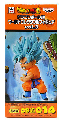 Banpresto Dragonball Z Super WCF Vol.3 Super Saiyan God GOKU Figure 014