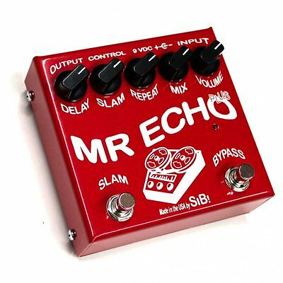 SiB Mr Echo Plus Delay Pedal with Slam Feature - True Bypass Boutique Hand Built