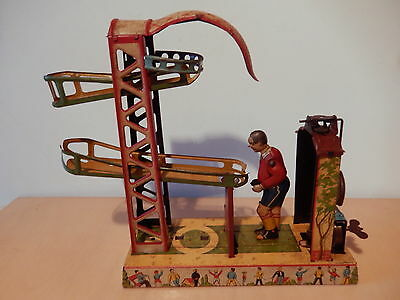 Jeu jouet tole ancien automate GELY allemand  Old toy altes Spielz Allemagne