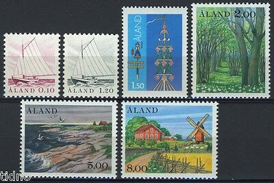 Aland (Åland) 1985, Year set in pristine MNH condition