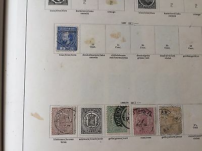 netherlands collection on album pages between 1860 and 1965 many sets & better
