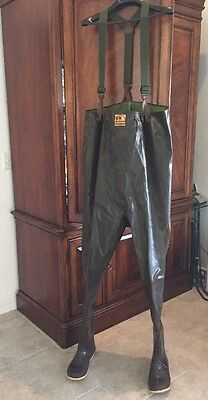 Guc -  Hodgman Caster Rubber  Mens Waders Style 13930 | 2-Ply, Size 11 Brown