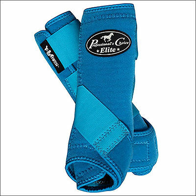 Pacific Blue Small Professional Choice Ventech Elite Sports Medicine Front Boots
