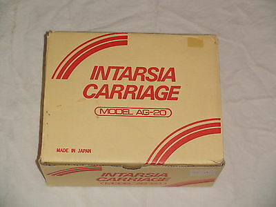 Knitting Machine Accessory Singer Intarsia Carriage Ag 20