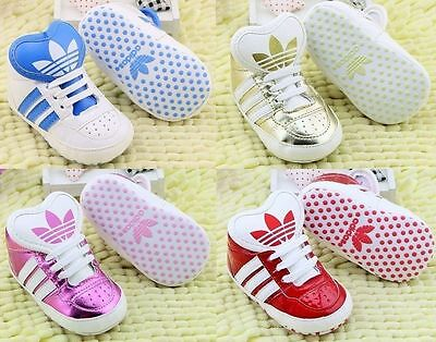 adidas Scarpe baby shoes schuh shower PRIMI PASSI SYN LEATHER sport skater style