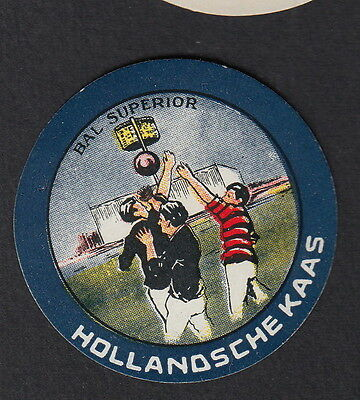 Ancienne petite   étiquette Fromage Hollande BN11737 Rudby Sport