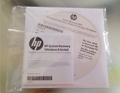 DVD RECOVERY per Notebook HP ENVY m6
