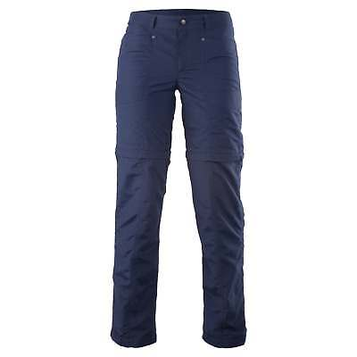 Kathmandu Kanching Womens Zip Off Shorts Regular Fit Trousers Hiking Pants Navy