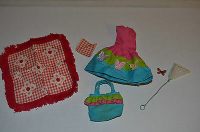 Vintage Original Barbie Skipper  #1933, Country Picnic Outfit Extras READ!