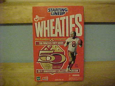 Steve Young  Wheaties Starting lineup!!
