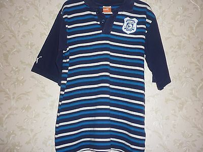"Official Cardiff City  Club Polo Shirt  Size Medium - 38"" Chest."
