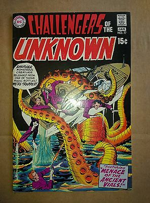 Challengers of the Unknown #77 (Dec 1970-Jan 1971, DC) VF