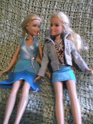 """2  Sharpay High School Musical dolls - 11"""" with  complete outifits inc shoes"""