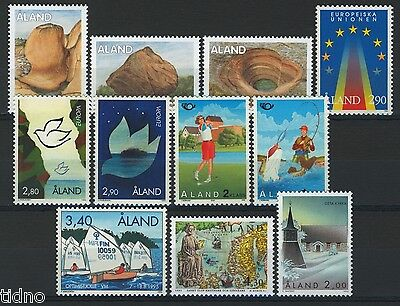 Aland (Åland) 1995, Year set in pristine MNH condition