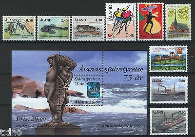 Aland (Åland) 1997, Year set in pristine MNH condition