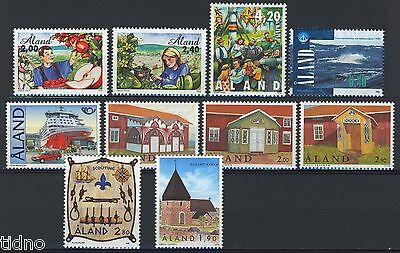Aland (Åland) 1998, Year set in pristine MNH condition