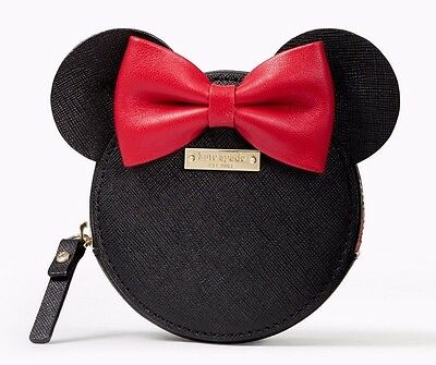 NWT - Kate Spade x Disney Minnie Mouse Coin Purse (Limited Edition)