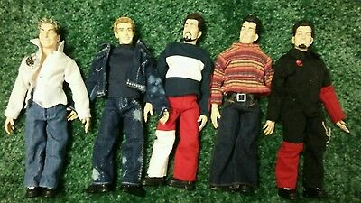 NSYNC Marionette Dolls Complete Set of 5  Timberlake Rare Living Toyz