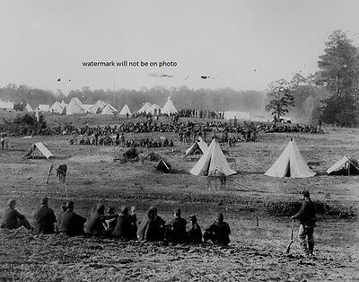 "Confederate Prisoners captured in Shenandoah Valley 8""x 10"" Civil War Photo #112"