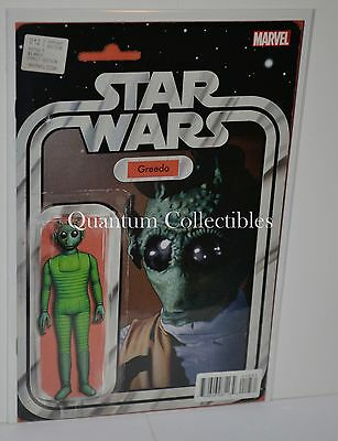 Star Wars #12 (John Tyler Christopher greedo Action Figure Variant Cover)