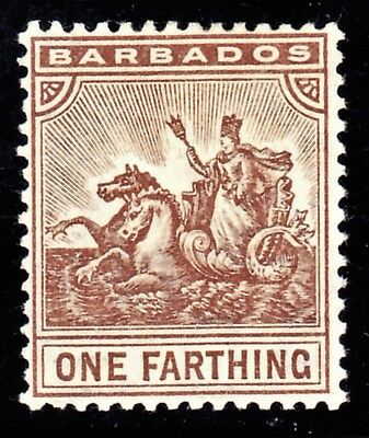 BARBADOS 1907 Seal of the Colony SG163  Mint Hinged.