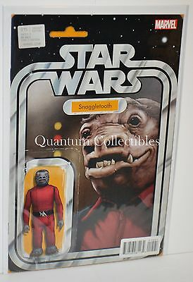 Star Wars #15 (John Tyler Christopher Snaggletooth Action Figure Variant Cover)