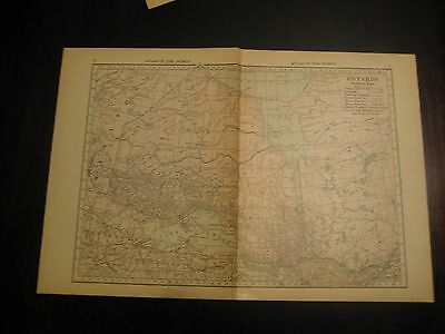 Antique Maps of Ontario, New Brunswick, Nova Scotia, Prince Edward Island