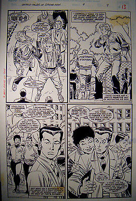 Spider-Man Original Art 1996 Untold Tales of Spider-Man #9 Pg.#9 by Ron Frenz