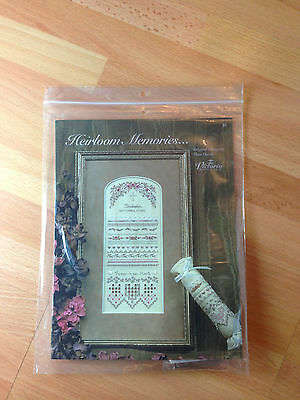 The Victoria Sampler Heirloom Memories... Cross Stitch Sewing Kit