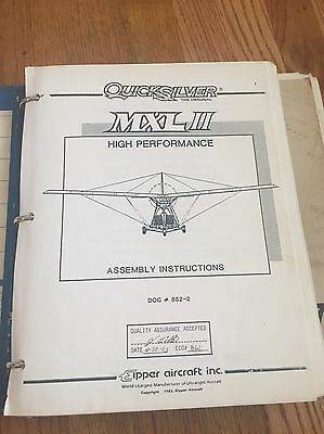 Quicksilver MXL II Assembly Instructions & Owners Manual