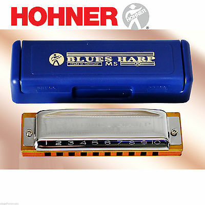 Hohner Diatonic Blues Harp Wood Comb Harmonica - *choose Key*