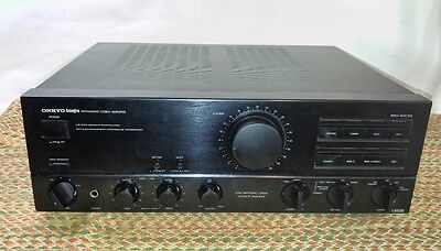 Onkyo A-8500 integrated Amplifier/ Parts or Repair