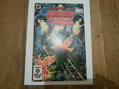 SWAMP THING #20 - 1st  ALAN MOORE !! NEAR MINT + HIGH GRADE!!   RED HOT KEY!!